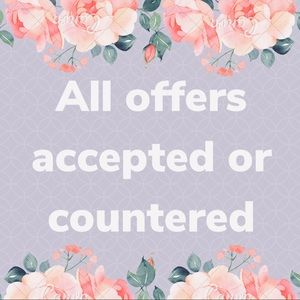 Feel free to make an offer! Save on bundles!